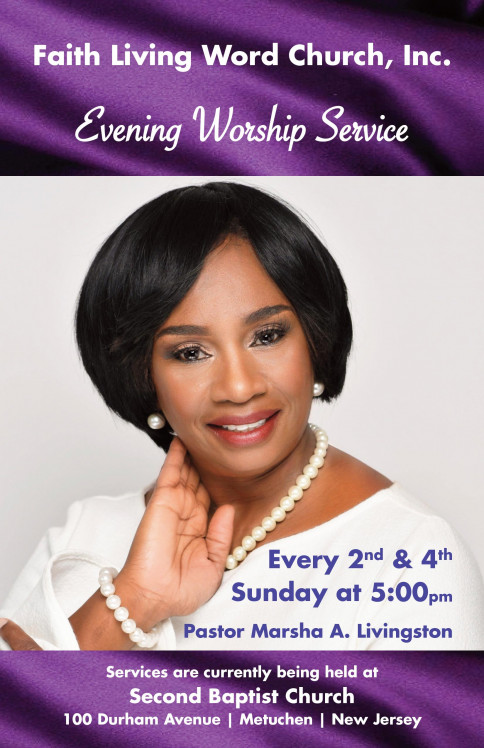 Join Us For Worship At Our New Location 100 Durham Avenue, Metuchen, NJ